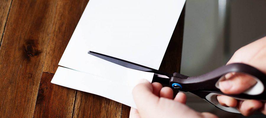 loop door papier
